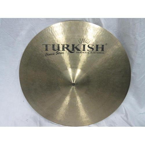 Turkish 20in CLASSIC RIDE Cymbal