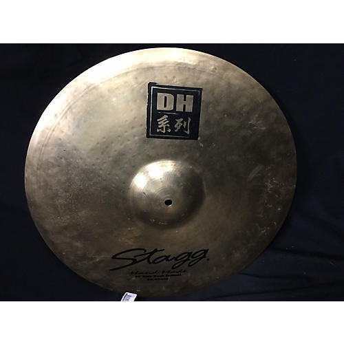 Stagg 20in Dual Hammered Rock Ride Cymbal