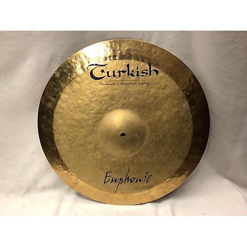 Turkish 20in Euphonic Ride Cymbal