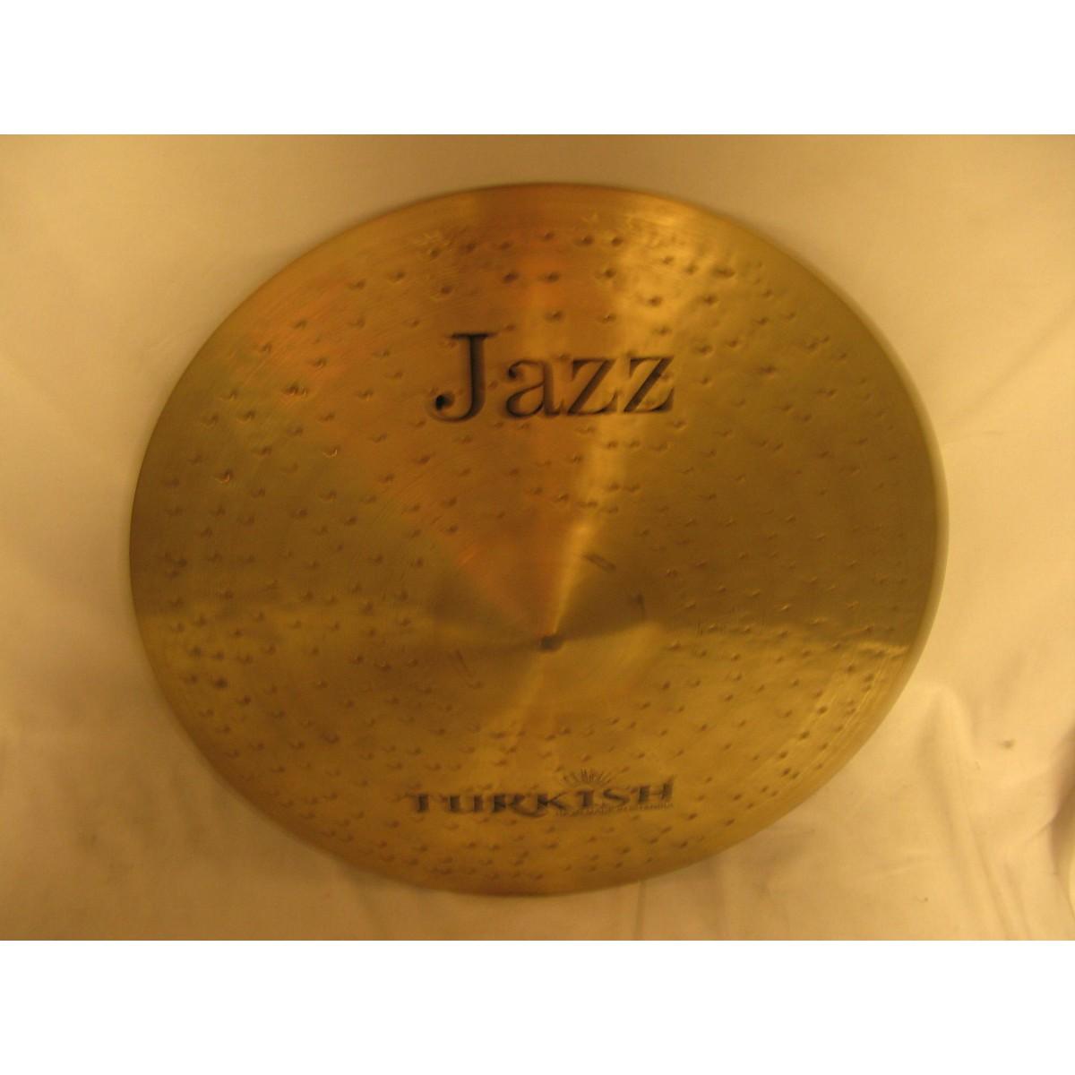 Turkish 20in Jazz Ride Cymbal