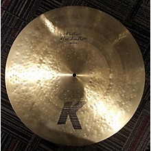 Zildjian 20in K Custom Flat Top Ride Cymbal
