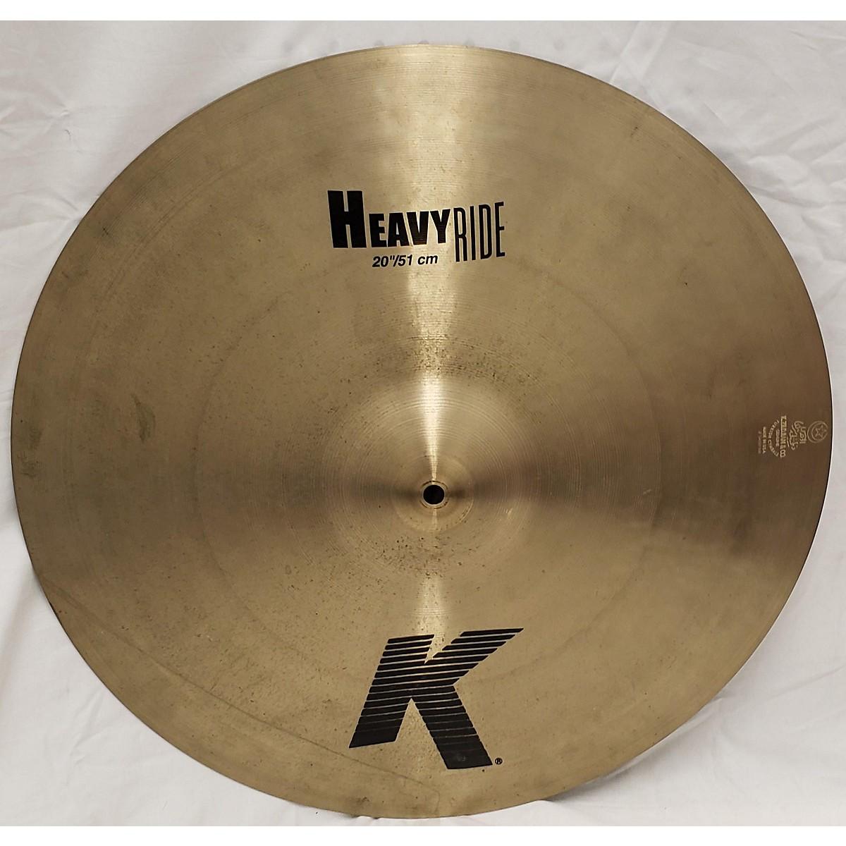 Zildjian 20in K Custom Heavy Ride Cymbal