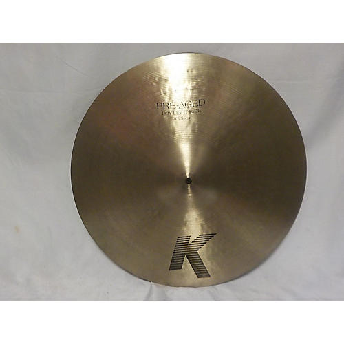 Zildjian 20in K PRE-aGED DRY LIGHT RIDE Cymbal