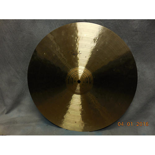 Paiste 20in MEDIUM HEAVY RIDE Cymbal