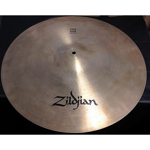 used zildjian 20in ping ride cymbal guitar center. Black Bedroom Furniture Sets. Home Design Ideas
