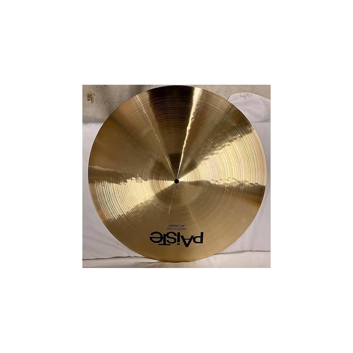 Paiste 20in Prototype Crash Cymbal