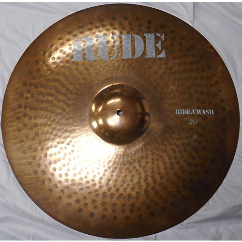 Paiste 20in Rude RIDE CRASH Cymbal