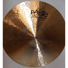 Paiste 20in Twenty Masters Collection Medium Ride Cymbal