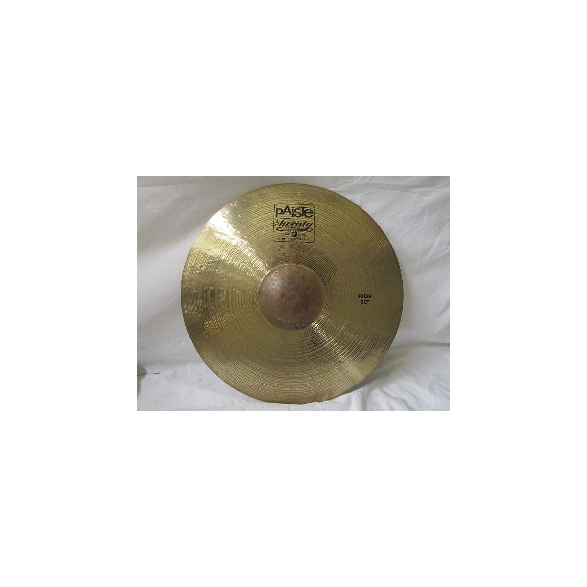 Paiste 20in Twenty Series Ride Cymbal