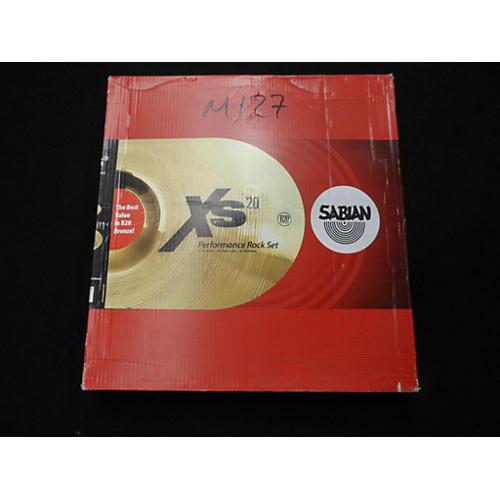Sabian 20in XS20 PERFORMANCE ROCK NATURAL SET Cymbal