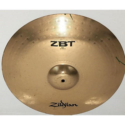 used zildjian 20in zbt ride cymbal 40 guitar center. Black Bedroom Furniture Sets. Home Design Ideas