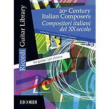Ricordi 20th Century Italian Composers (Guitar) MGB Series Softcover