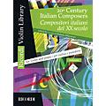 Ricordi 20th Century Italian Composers (Volume 2 Violin and Piano) MGB Series Softcover thumbnail