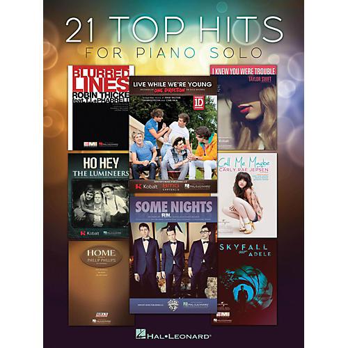 Hal Leonard 21 Top Hits For Piano Solo