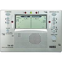 Korg Tm-40 Digital Tuner Metronome