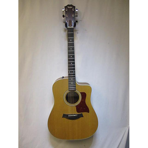 used taylor 210ce acoustic electric guitar natural guitar center. Black Bedroom Furniture Sets. Home Design Ideas