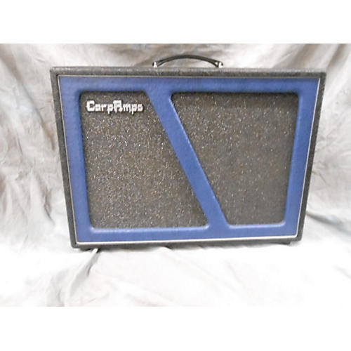 In Store Used 212 Cabinet V30s Black And Blue Guitar Cabinet