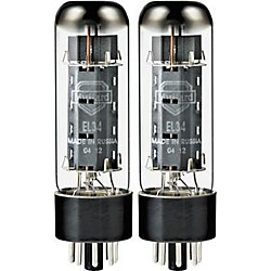 Mullard El34 Tube Hard/Blue Duet