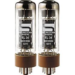 Svetlana El34 Matched Power Tubes Medium/Green Duet