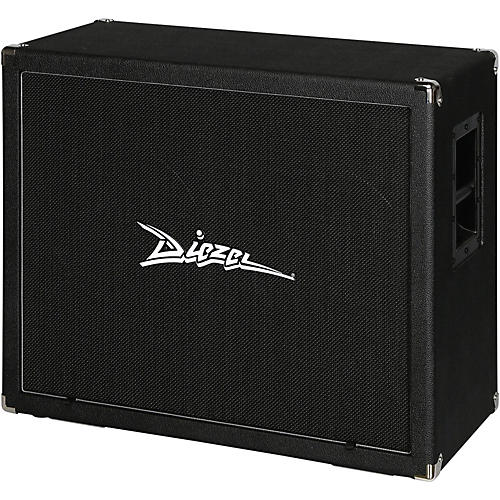 diezel 212fv 120 2x12 front loaded guitar speaker cabinet with celestion vintage 30s black. Black Bedroom Furniture Sets. Home Design Ideas