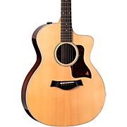 214ce DLX Grand Auditorium Acoustic-Electric Guitar Natural