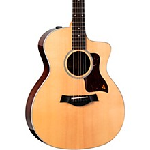 214ce DLX Grand Auditorium Acoustic-Electric Guitar Natural