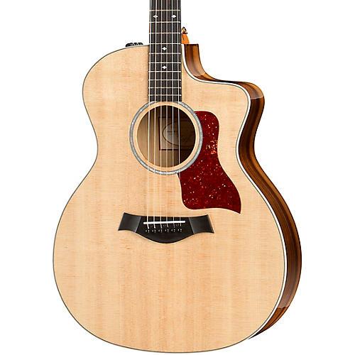 taylor 214ce k dlx grand auditorium acoustic electric guitar natural guitar center. Black Bedroom Furniture Sets. Home Design Ideas