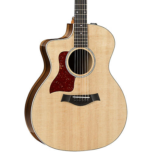 Taylor 214ce-K DLX Grand Auditorium Left-Handed Acoustic-Electric Guitar
