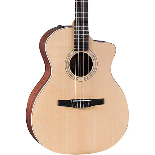 Taylor 214ce-N Grand Auditorium Nylon String Acoustic-Electric Guitar