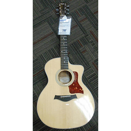 used taylor 214ce qm deluxe acoustic electric guitar guitar center. Black Bedroom Furniture Sets. Home Design Ideas