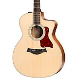 Taylor 214ce Rosewood Grand Auditorium Acoustic-Electric Guitar Natural