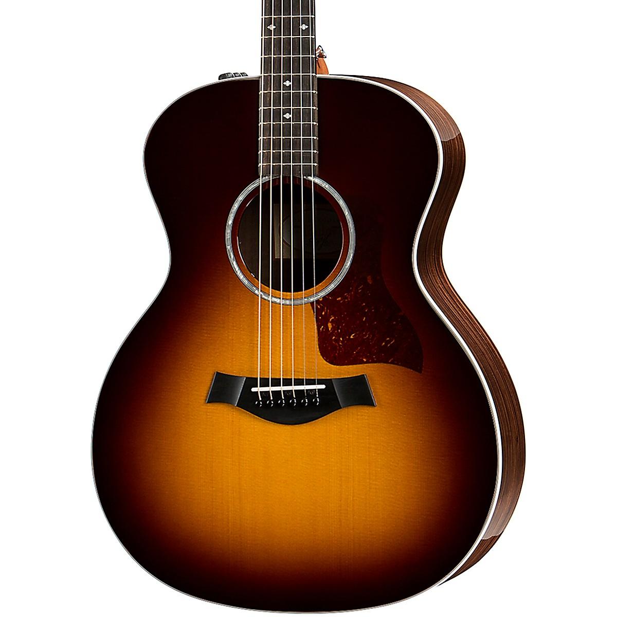 Taylor 214e DLX Grand Auditorium Acoustic-Electric Guitar