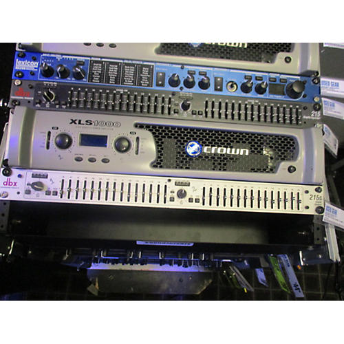 dbx 215S Dual Channel 15-Band Graphic Equalizer