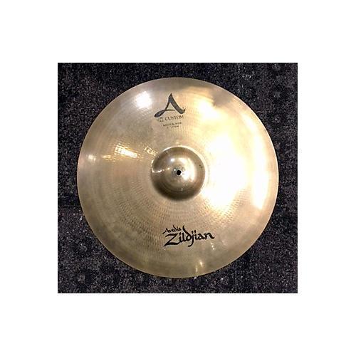 Zildjian 21in A Custom Medium Ride Cymbal