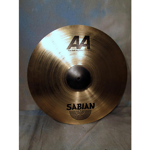 Sabian 21in AA Raw Bell Dry Ride Cymbal