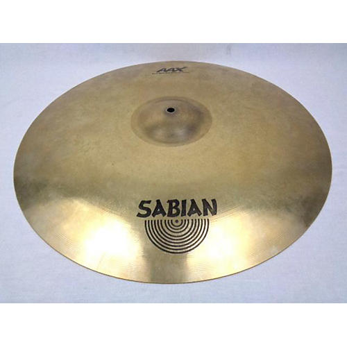 Sabian 21in AAX Raw Bell Dry Ride Cymbal