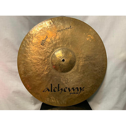 Istanbul Agop 21in ALCHEMY RAW RIDE Cymbal