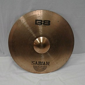 used meinl 21in b8 rock ride cymbal guitar center. Black Bedroom Furniture Sets. Home Design Ideas