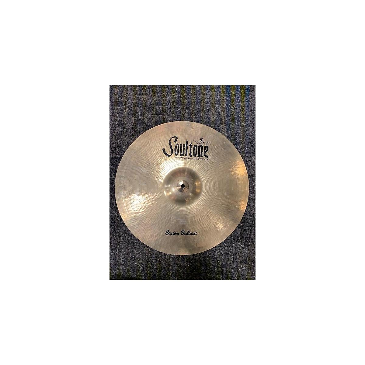 Soultone 21in CUSTOM BRILLIANT RIDE Cymbal