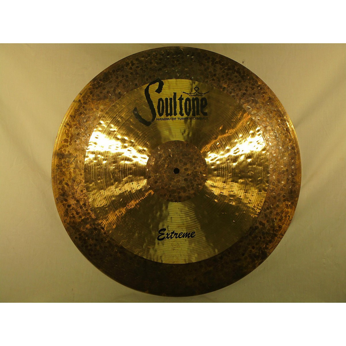 Soultone 21in Extreme Ride Flat Cymbal