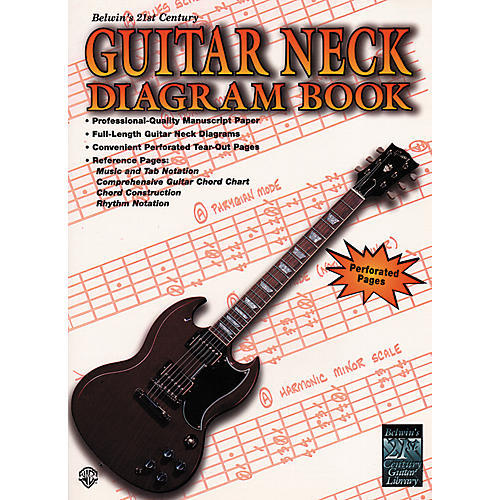 Alfred 21st Century Guitar Neck Diagram Book