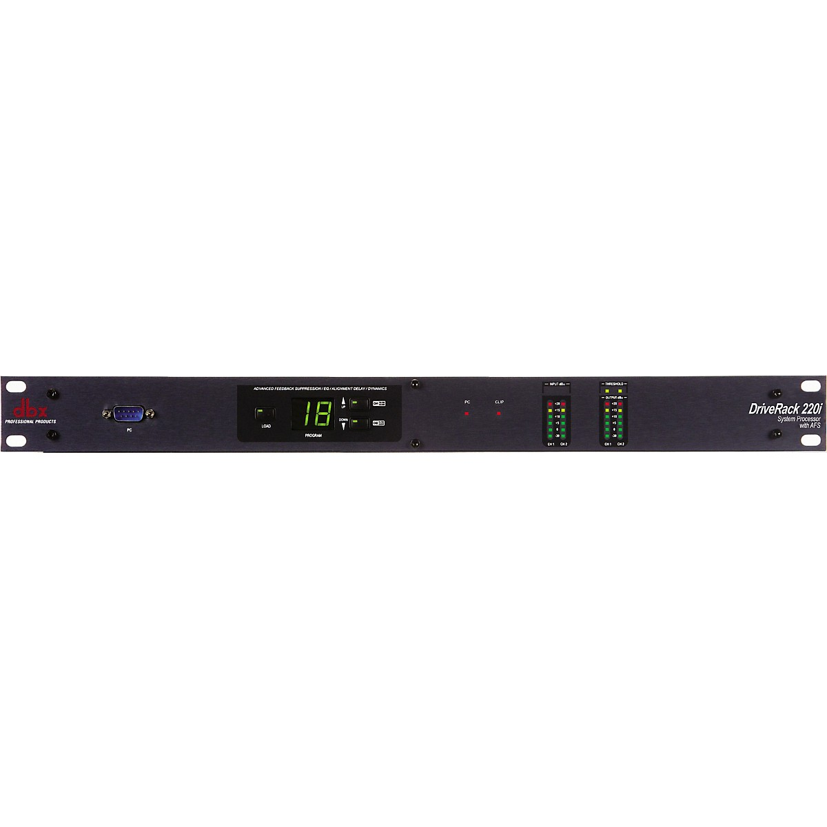 dbx 220i 2X2 Loudspeaker Management System with Display