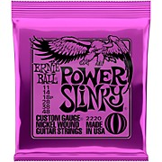 2220 Power Slinky Nickel Electric Guitar Strings