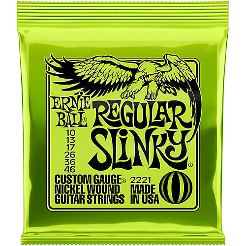 Ernie Ball 2221 Nickel Regular Slinky Electric Guitar Strings