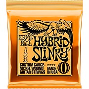 2222 Nickel Hybrid Slinky Electric Guitar Strings