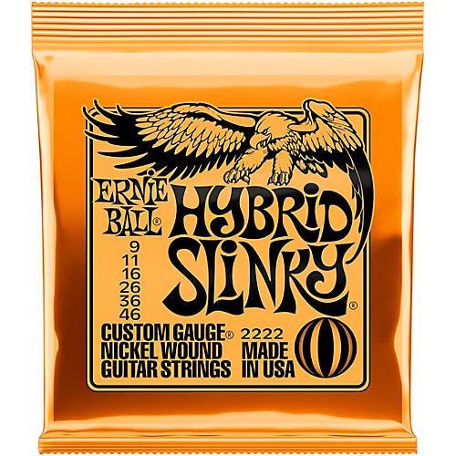 Ernie Ball 2222 Nickel Hybrid Slinky Electric Guitar Strings
