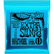 2225 Nickel Extra Slinky Electric Guitar Strings