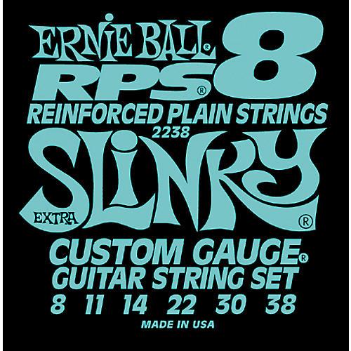 Ernie Ball 2238 Extra Slinky RPS 8 Electric Guitar Strings