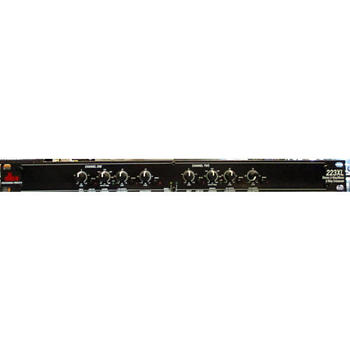 dbx 223XL Stereo 2-Way/Mono 3-Way Crossover