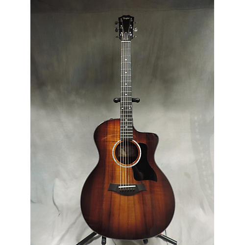 used taylor 224cekdlx acoustic electric guitar guitar center. Black Bedroom Furniture Sets. Home Design Ideas